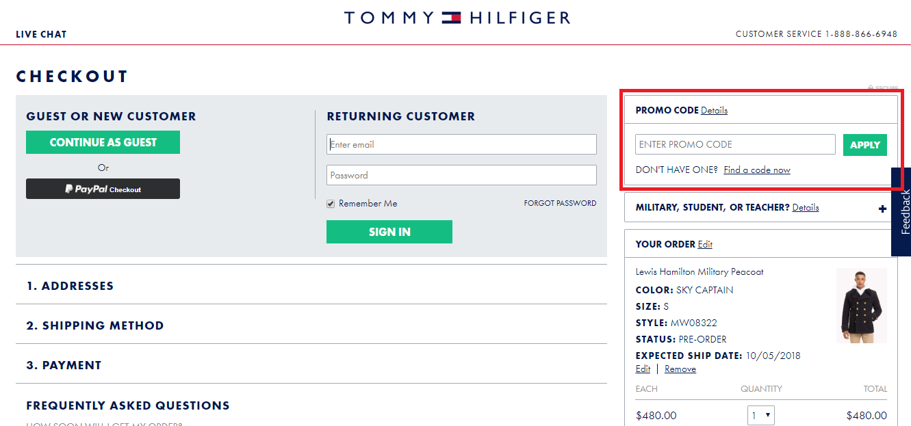 Tommy Hilfiger Coupons 01