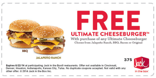 Jack in the Box Coupons 01