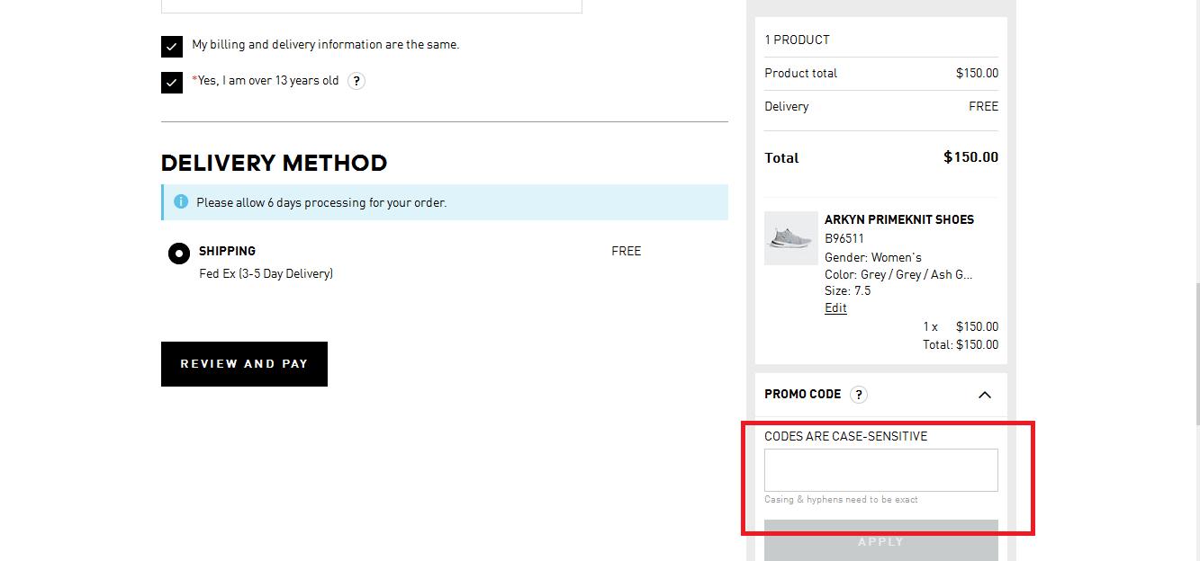 Adidas Coupons 01