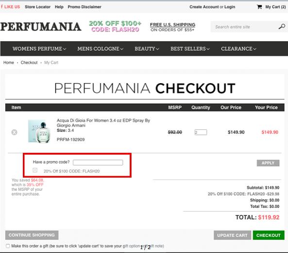 Perfumania Coupons 01
