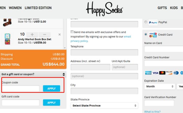 Happy Socks Coupons
