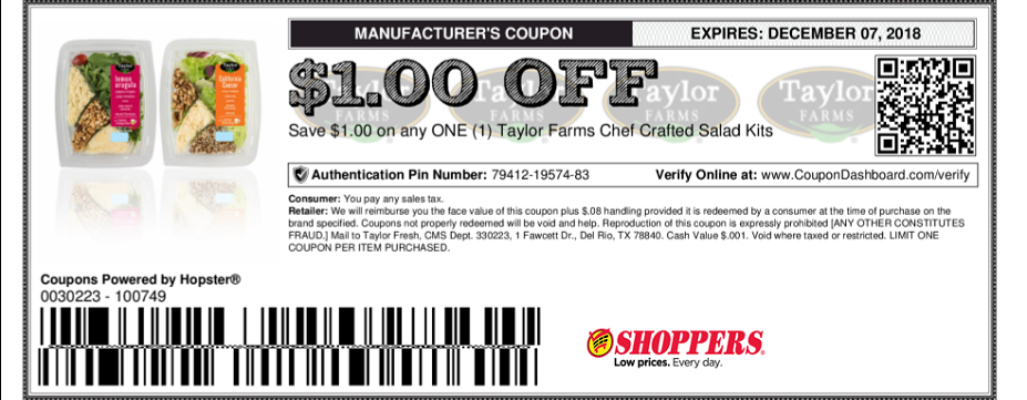 Shoppers Food & Pharmacy Coupons
